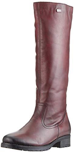 Remonte Damen D8282 Hohe Stiefel, Rot (Chianti 35), 40 EU