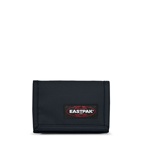 Eastpak Crew Single WalletEastpak's classic wallet : made for convenience with the tri-fold hook loop closure and ring for your keychainFeatures:Multi-compartment interior with space for cards and cashHeight: 9.5cm, Width: 13.5cmCrafted from 100% pol...