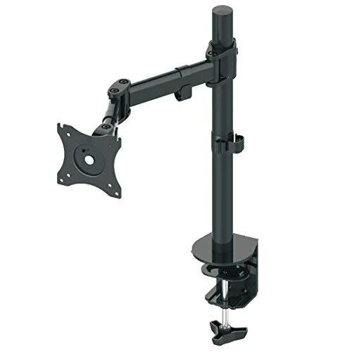 """deleyCON Universal Monitor Tischhalterung - 10"""" bis 32"""" Zoll (25cm-81cm) - bis 8Kg - max. VESA 100x100mm - Neigbar + Schwenkbar - Tisch Halterung Monitorhalterung"""