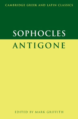 Sophocles: Antigone Paperback (Cambridge Greek and Latin Classics)