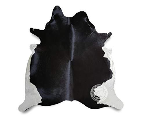 Tapis de Peau de Vache Ton Sombre 180 x 210 cm - Qualité Supérieur de PIELES DEL SOL