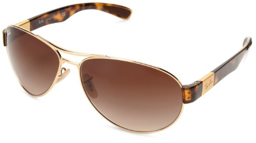 Ray-Ban Damen Sonnenbrille RB3509, Gr. One Size, Arista/Braun gradient