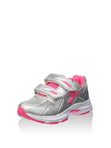 Diadora , Chaussures spécial volleyball pour homme Multicolore - C4778 ARGENTO/ROSA