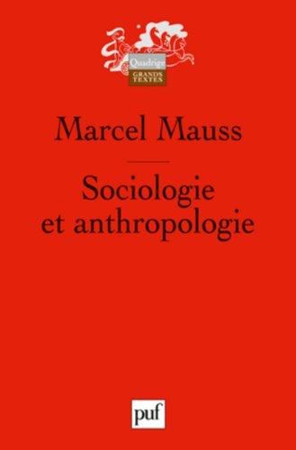 Sociologie et anthropologie par Marcel Mauss