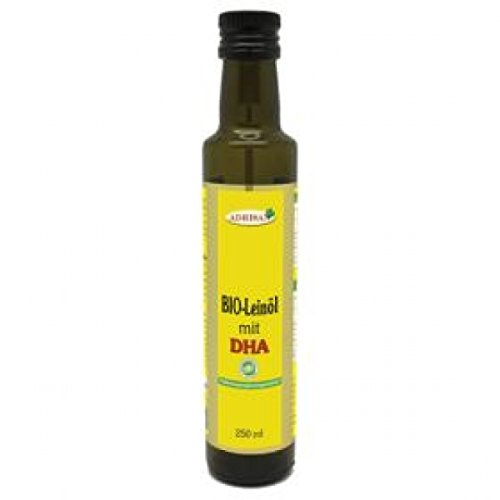 BIO* Leinöl mit DHA 250ml - Nahrungsergänzungsmittel
