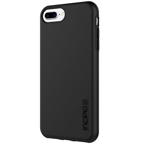 Incipio DualPro Schutzhülle für Apple iPhone 8 Plus / 7 Plus / 6S Plus / 6 Plus - schwarz [Extrem robust | Stoßabsorbierend | Soft-Touch Beschichtung | Hybrid] - IPH-1491-BLK
