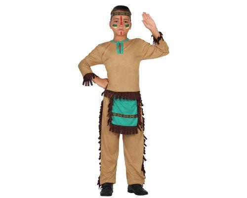 Imagen de atosa  disfraz de indio para niño, talla 7  9 años 23777