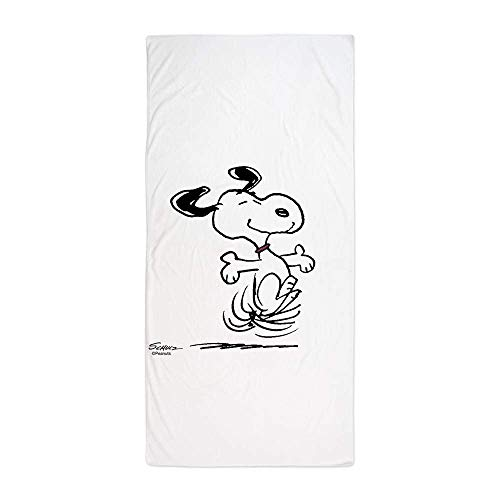 jinhua19 Snoopy- Dancing DogLarge Beach Towel, Soft 31