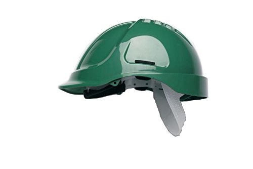 Scott Safety HC600/G Helmet Unvented with Sweatband, Green