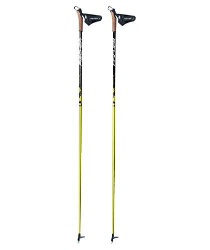 """Fischer Langlauf Skistöcke """"RC3 Carbon"""" weiss (100) 155"""