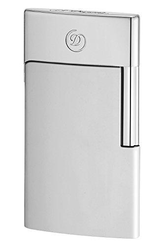S.T. Dupont 027002E Elektrisches Feuerzeug E-Slim Chrom (Damen-feuerzeug)
