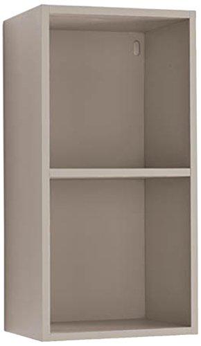 Libreria A Muro In Legno.Giessegi Job 9333 Libreria Verticale Appesa A Muro Legno Visone 316 X 40 X 80 Cm