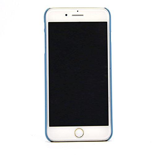 iPhone 7 Plus Hülle, iPhone 7 Plus Schutzhülle, Vandot Diamant Bling Glitzer Handyhülle iPhone 7 Plus PC Hart Case Cover mit Kratzfeste Stoßdämpfende Luxus Ultra Dünn Handytasche Handy Schutz Schale T Blau