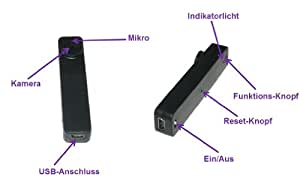 4GB MiniDV Knopfkamera Button Cam - RBrothersTechnologie