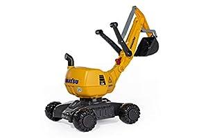 Rolly Toys RollyToys 421169 - Comatsu para niños de 3 a 8 años (Sistema de Cierre automático), Color Gris y Amarillo