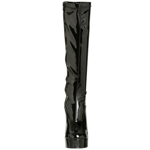 Pleaser - Chaussures Noir (Noir (Blk Str Pat))