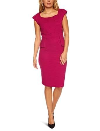 Fever Renee Panel Jersey Women's Dress Mulberry Size 8