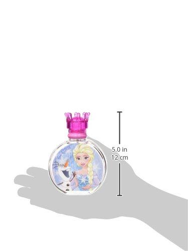 Air Val Disney Frozen Die Eiskönigin Kinder-Parfüm im Glas-Flakon mit Krönchen-Verschluss, 1er Pack (1 x 100 ml)