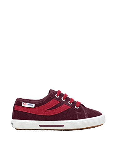 Superga 2951- SUEJ S004360, Baskets mode mixte enfant Bordeaux-Beet