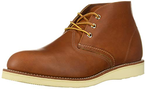 Red Wing Mens Chukka 03140 Brown Leather Boots 44 EU -