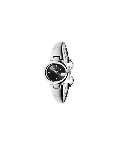 GUCCI orologio donna GUCCISSIMA acciaio e diamanti small 27mm YA134505