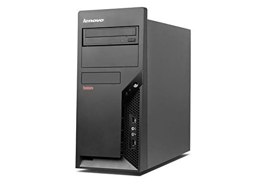 Lenovo ThinkCentre M57 PC (Intel Core2Duo, 4GB, 250GB, Intel GMA 4500, Windows 10 Home) schwarz (Zertifiziert und Generalüberholt)