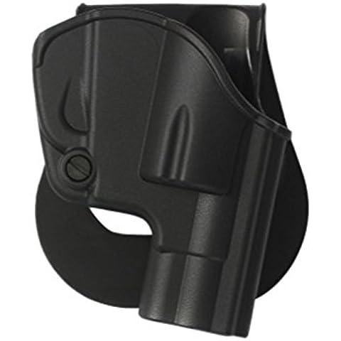 Imi Defense polimero stampati a fondina Smith & Wesson S & W J Cornice .38z1240, Black