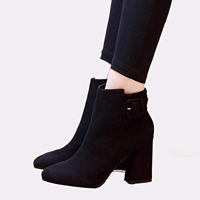 GTVERNH Mode/Chaussures Femme/en Et Automne Et Femme/en en Hiver Le Daim Broussailles DE 10 Cm De Talon De Chaussures À Talons...B07H71C1QWParent 753be5