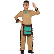 Atosa - Disfraz de indio para niño, talla 5 - 6 años (23776)