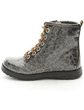 Primigi - Zapatos de cordones para niña Gris gris