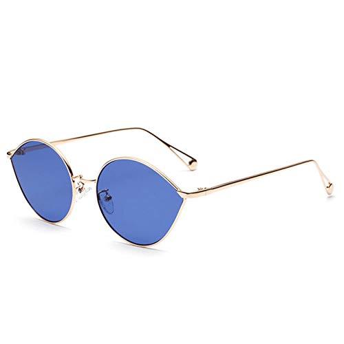 CjYtYj Frauen-Katzenauge-Sonnenbrille-Metallrahmen-Dame Sun Glasses Shades Eyewear Uv400