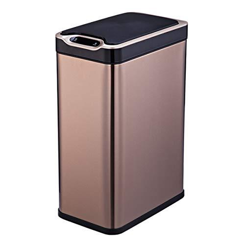 Mülleimer Automatische Induktion Touchless Mülleimer Küche Edelstahl Intelligent Sensor Abfallbehälter (Touchless Mülleimer 20 Liter)