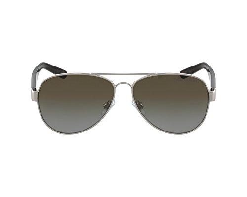 Polo Ralph Lauren Herren Sonnenbrille PH3096, Silber (Silver 9010T5), One size (Herstellergröße: 59)