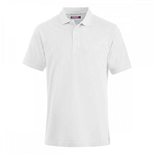 Preisvergleich Produktbild Premium Polo-Shirt Baumwolle - 2 Stück Set - Weiß, XL