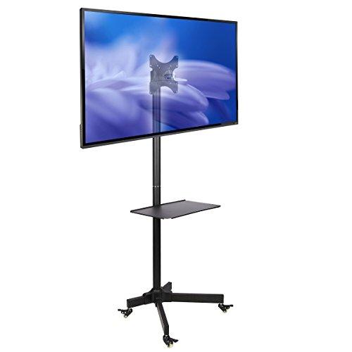 NB AVA1500-60-1P - Soporte móvil de suelo para pantallas LCD, LED , Plasma y curvadas de 32' a 65'  y hasta 45.5 kg