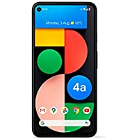 Google Pixel 4a 5G Android Mobile phone- 128GB Just Black, SIM Free, Adaptive Battery