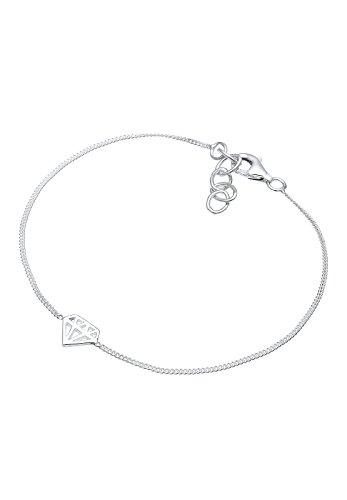Elli-Damen-Armband-Diamantform-Silber-rosvergoldet-020293171617