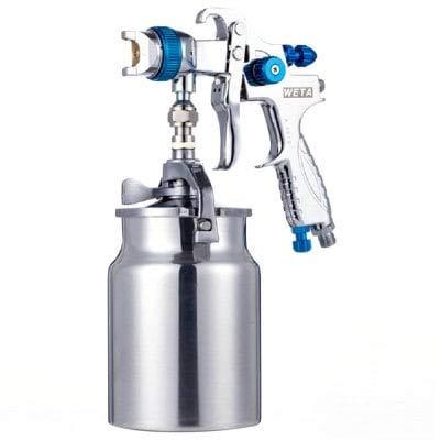 HaiMa Haute Atomisation Voiture Protection De L'Environnement Peinture Pistolet Outil De Pulvérisation-Argent 15.7 X 12.7 X23Cm