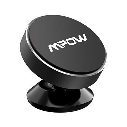 Mpow Soporte Magnético Coche, Soporte Móvil Coche para Salpicadero, Soporte Imanes para iPhone XR/XS Max/X/8/7/6, Samsung Galaxy S10/S9/S8/S7/S6, HTC One, Sony Xperia, Huawei y ect