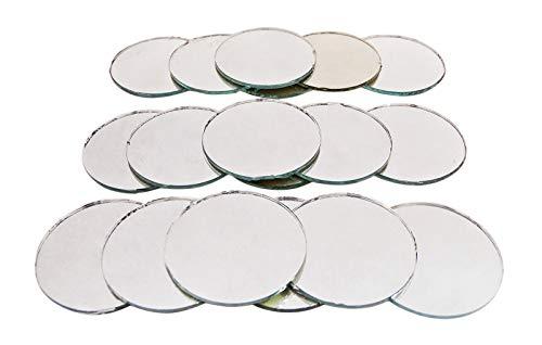 piegel Bulk-Sortiment 1.6-Zoll-Craft Home Décor Zubehör Spiegel Mosaikfliesen - 9-Tlg ()