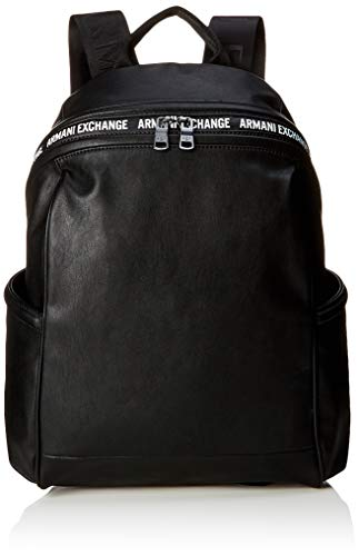 ARMANI EXCHANGE Backpack - Zaini Uomo, Nero (Black), 10x10x10 cm (W x H L)