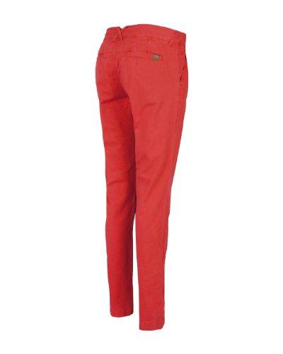 Bench Hose Straighten Up, Pantalon Femme Rouge (rot)