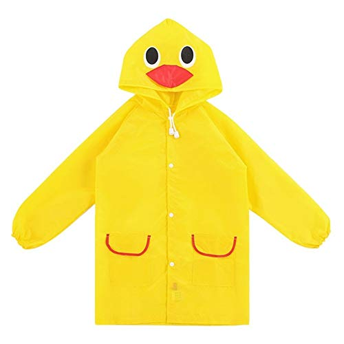 YUELANG 1PC Animal Style Waterproof Kids Raincoat For Children Rain Coat Rainwear/Rainsuit Student Poncho