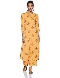 Gerua Women's Straight Salwar Suit Set