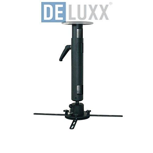 Deluxx 15306 Deckenhalter Profi-Line 40-70 cm, stufenlos verstellbar weiß