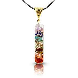 Collar 7 chakras auténticas piedras
