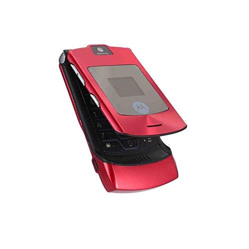 Razr Bluetooth (Faltbares Handy Motorola Razr V3i + Simlock-frei + Mit Folie + Topp)