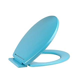 Vinsani® Soft Close Aqua WC Bathroom Toilet Seat 46 x 2.5 x 35.5 cm