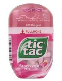 tic tac Strawberry Mix Big Pack (Tic Tac Süßigkeiten)
