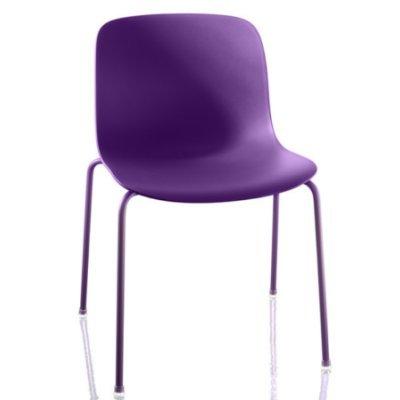 Sedie In Polipropilene Colorate.Magis Troy N 2 Sedie Impilabili In Polipropilene Colorato Viola